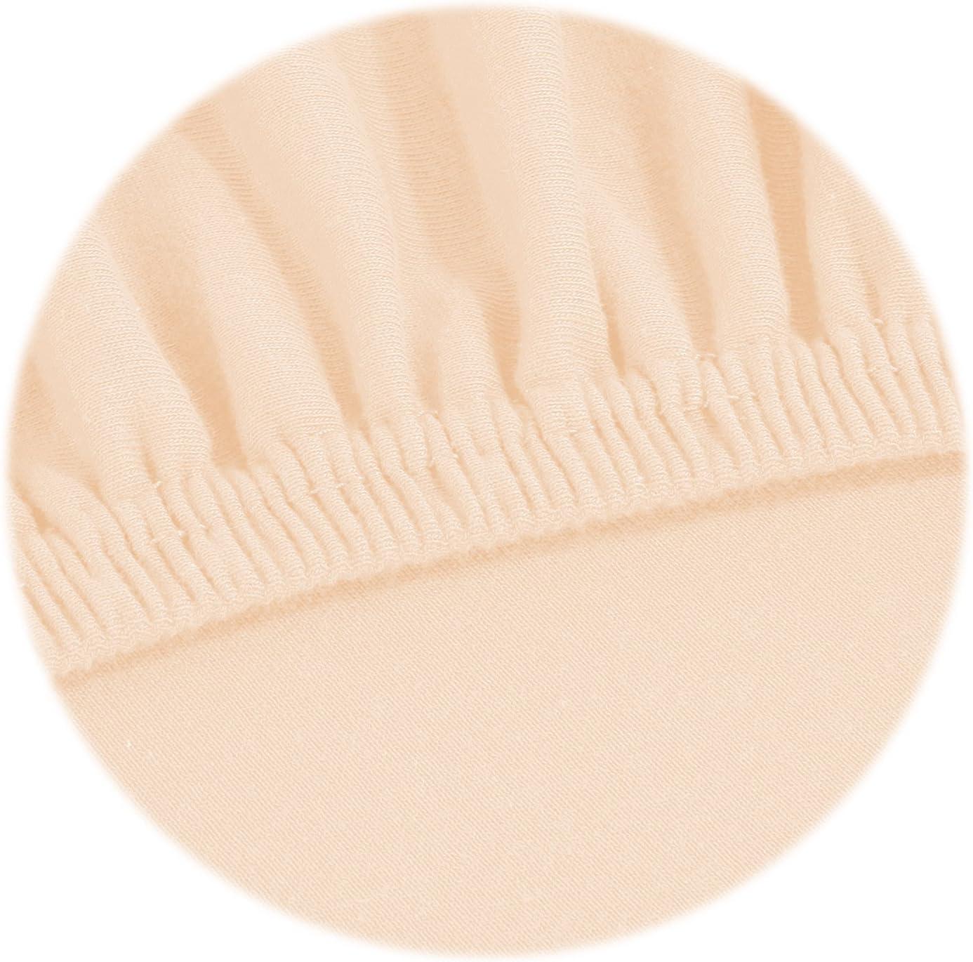 gelb 90x200 cm bis 100x200 cm SHC Spannbetttuch Jersey Topper Spannbettlaken 100/% Baumwolle