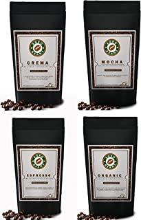 Agro Beans Variety Pack ( Freshly Roasted Award Winning Coffee Beans) (Whole Beans, 4 x 1kg)