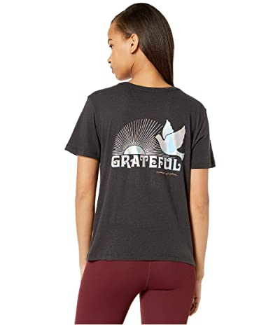 Spiritual Gangster Rec Tee (Grateful Vintage Black) Women
