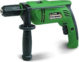 Stayer 1.558 Taladro percutor de 1000W con variador electrónico de velocidad TH 1000 AK, incluye maletín, 1 W