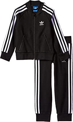 adidas Originals Kids - Superstar Fleece Tracksuit (Little Kids/Big Kids)