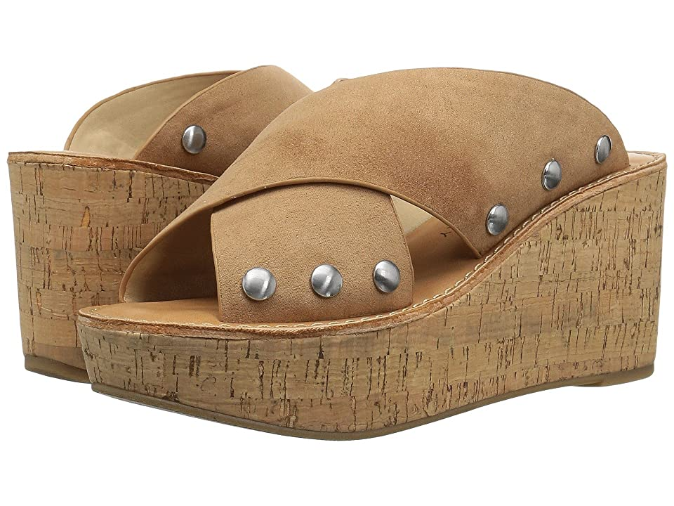 Chinese Laundry Oahu Sandal (Camel Microsuede) Women