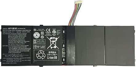 EBKK AP13B3K AP13B8K Battery for Acer Aspire R7-571 R7-571G R7-572 R7-572G V5-552G V5-572P V5-573P V7-481 V5-472P V5-572G V7-482P Notebook 4ICP6/60/78 AL13B3K [15V 53Wh]