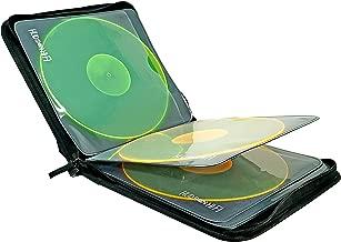 Hudson Hi-Fi Portable Vinyl Record Storage Carrying Case Messenger Bag | Water-Resistant & Durable LP's Organizer | Convenient & Practical LP Records Carry Case | Protective Holder For 8 LPs | Black