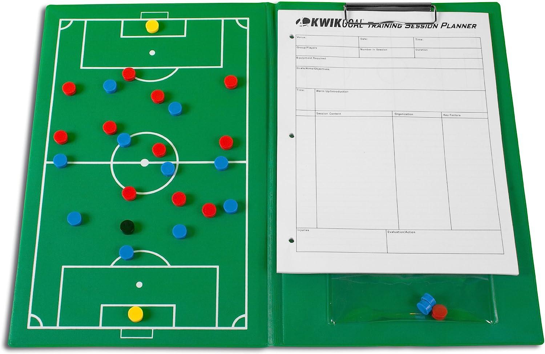 Kwik Goal Soccer Magnetic El Paso Mall Board Green 8 x 1 H 2-Inch 12-Inch W Rapid rise