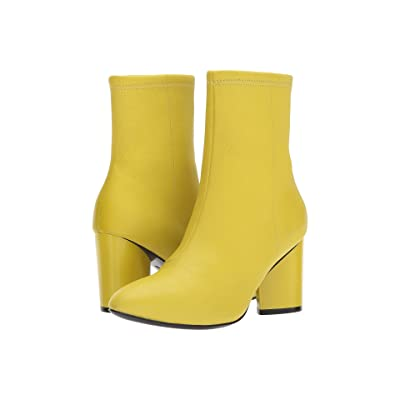 Opening Ceremony Dylan Leather Boot (Acid Green) Women