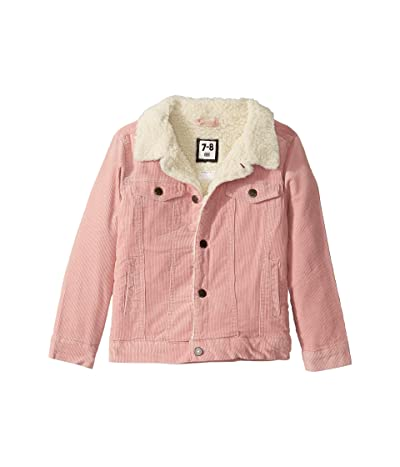 COTTON ON Jamie Cord Jacket (Little Kids) (Silver/Pink) Girl