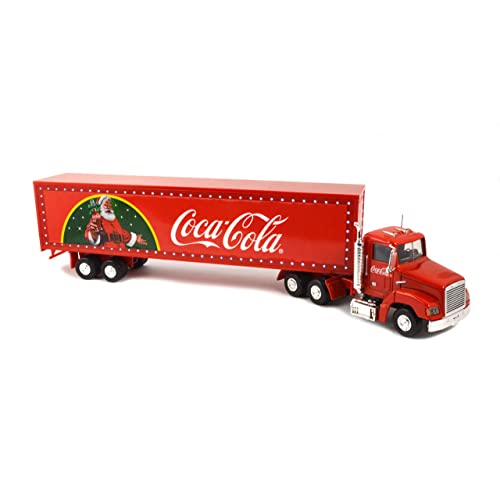 b4be3c12f6ddf6 Coca-Cola 443012 LED Christmas Light up Truck, Red