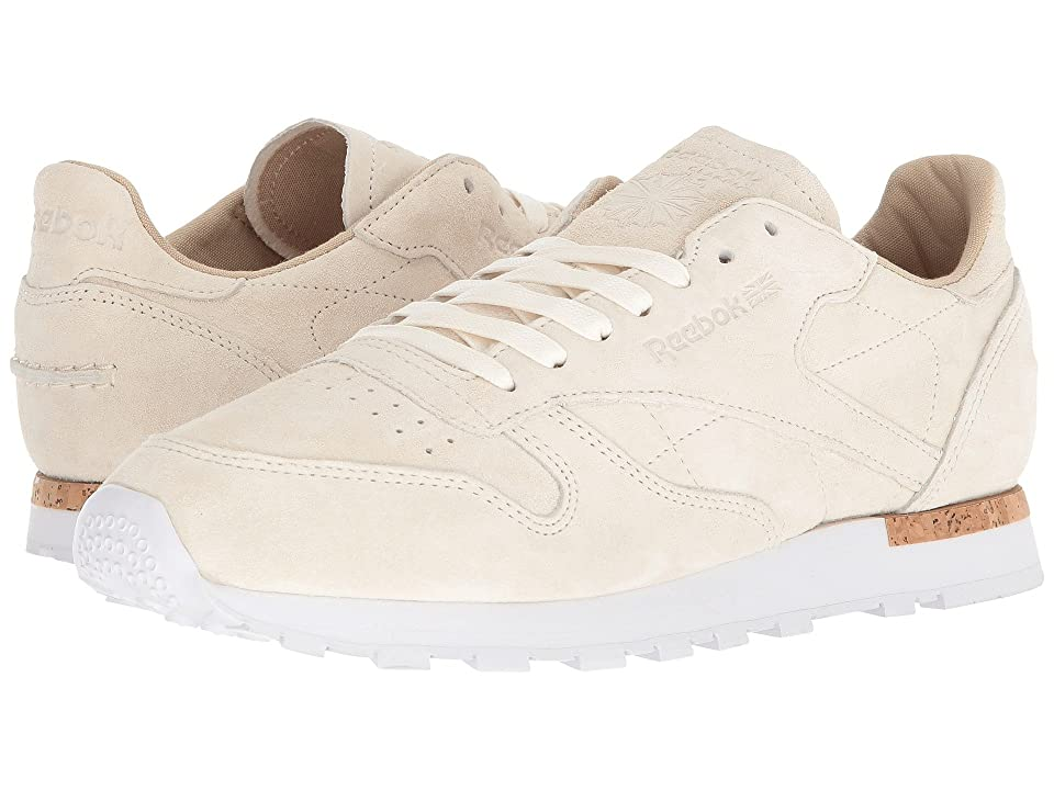 Reebok CL Leather LST (Classic White/Paperwhite/White) Men