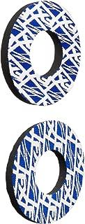 Factory Effex (15-67920 Blue/White Moto Grip Donut - Pair