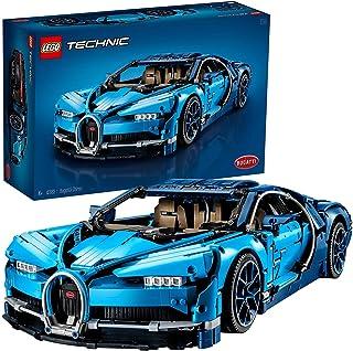 LEGO- Bugatti Chiron, Voiture de Sport Réplique Exclusive Numéro de Série Unique, Modèle à Collectionner Technic Jeux de C...