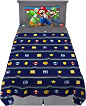 Franco MA8638 Kids Bedding Soft Sheet Set, 3 Piece Twin Size, Super Mario