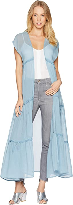 Prairie Girl Sleeveless Duster