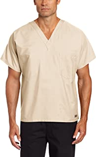 Landau Premium Uniform Reversible One Pocket V-Neck Scrub Top