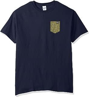 NCAA Washburn Ichabods Faux Pocket Short Sleeve, Large, Navy