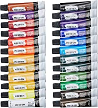 MEEDEN Watercolour Paint Set, 24 Art Watercolours Painting Kit for Artists/Students/Beginners, Rich Pigments/Vibrant/Non T...