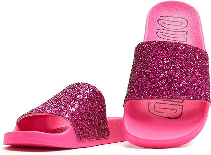 Adidas Originals Adilette W Rose Choc Synthétique Adulte Slides Sandales