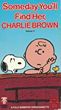 Someday You'll Find Her Charlie Brown VHS