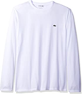 Men's Long Sleeve Jersey Pima Regular Fit Crewneck T-Shirt