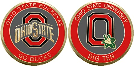 """Ohio State University """"Buckeyes"""" Collectible Challenge Coin - Logo Poker -Lucky Chip"""