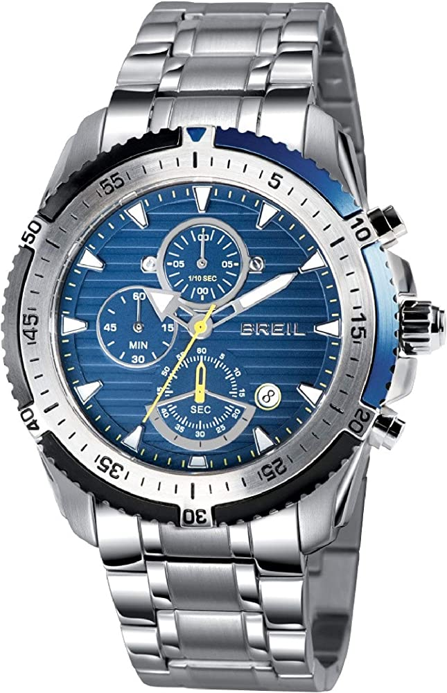 Breil ,orologio,cronografo per uomo,in acciaio Ground Edge