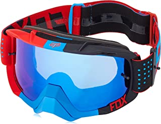 Fox Racing Air Defence Unisex Motocross Motorcycle Goggles Eyewear - Libra Blue-Red/Blue Spark/No Size