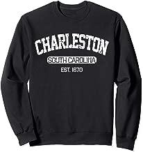 Vintage Charleston South Carolina Est. 1670 Souvenir Gift Sweatshirt