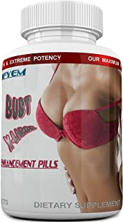 Bust X-Large Breast Enlargement, Breast Enhancer, Bust Enhancement Pills - Enjoy Larger, Fuller, Firmer Breasts. (Not a Breast Cream). 1 Month Supply