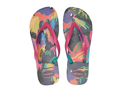 Havaianas Top Fashion Flip-Flops (Black) Women