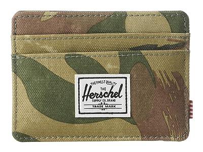 Herschel Supply Co. Charlie RFID (Brushstroke Camo) Wallet Handbags