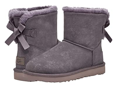 UGG Mini Bailey Bow II Shimmer (Nightfall) Women
