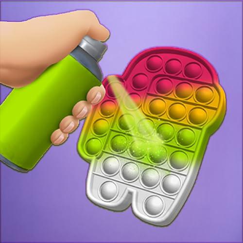 Pop It Fidget Toy 3d