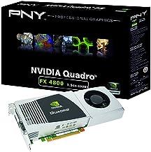 NVIDIA Quadro FX 4800 by PNY 1.5GB GDDR3 PCI Express 2.0 x16 DVI-I DL Dual DisplayPort and Stereo OpenGL, DirectX, CUDA, a...