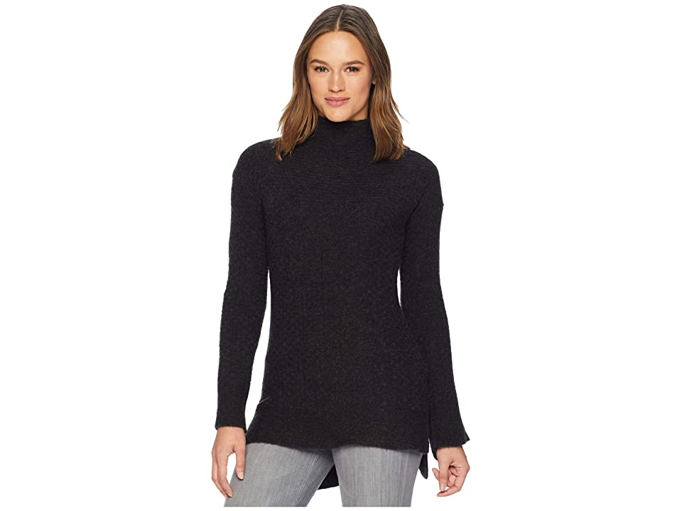 ExOfficio Pontedera Funnel Neck (Charcoal Heather) Women