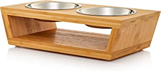 Best top paw double diner dog stand with bowls Reviews