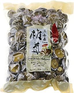 ONETANG Dried Mushrooms 16 oz Dried Shiitake Mushrooms 2019 New Mushrooms 1 Pound