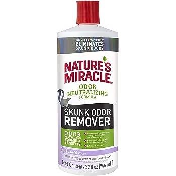 Nature's Miracle Skunk Odor Remover Odor Neutralizing Formula