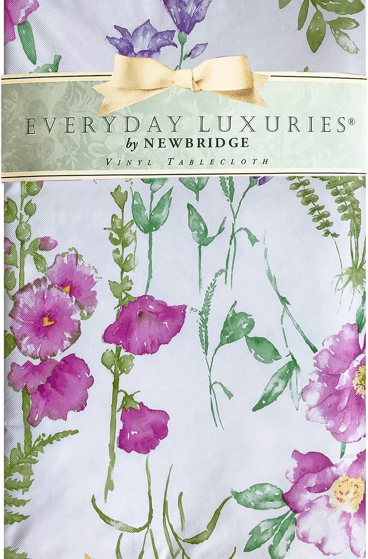 Sale item Newbridge Wildflower Fields Vinyl Ranking integrated 1st place Flannel - Tablecloth Backed Pu