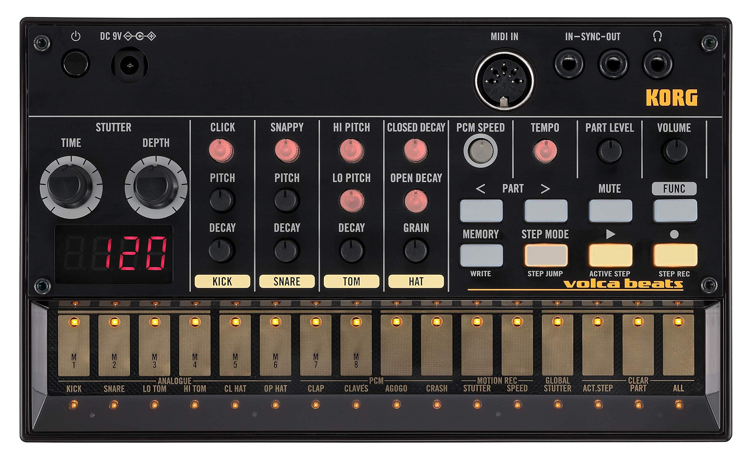 Korg VOLCABEATS 16 Key Synthesizer