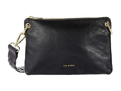 Ted Baker Pheoba Crossbody (Black) Cross Body Handbags