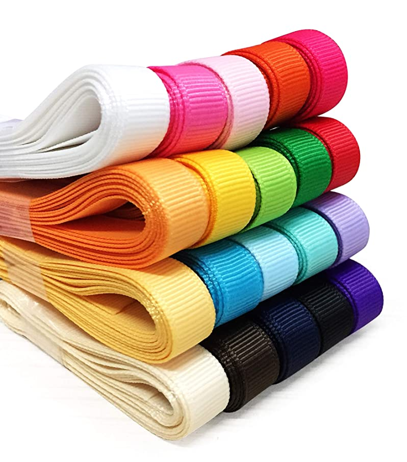 YAMA Grosgrain Fabric Ribbons Set - 3/8
