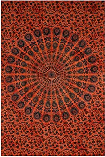 Bloomingville Home Accessories Burnt Orange Cotton Tapestry