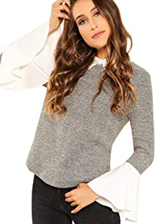 Best flounce collar blouse Reviews