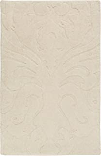 Surya Candice Olson Sculpture SCU-7511 Transitional Hand Loomed 100% Wool Putty 9' x 13' Area Rug