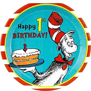 Best dr seuss birthday plates Reviews
