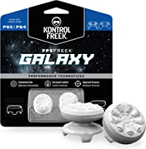 KontrolFreek FPS Freek Galaxy White for Playstation 4 (PS4) and Playstation 5 (PS5) | Performance Thumbsticks | 1 High-Ris...