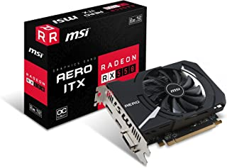 MSI ショート基盤採用 グラフィックスカード RADEON RX 550 AERO ITX 2G OC
