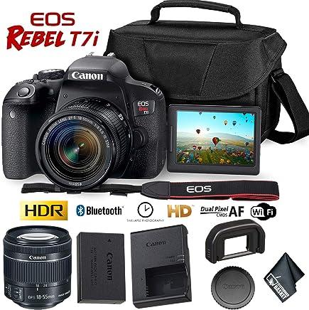 Canon EOS Rebel T7i DSLR Camera (Body Only) International Model