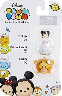 Tsum Tsum 3-Pack Figures: Tigger/White Rabbit/Mickey