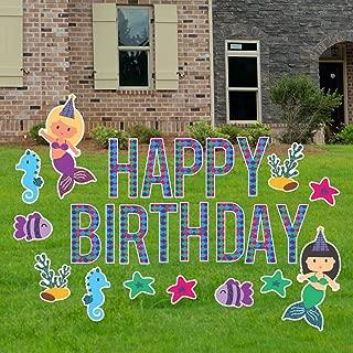 happy 50th birthday yard signs